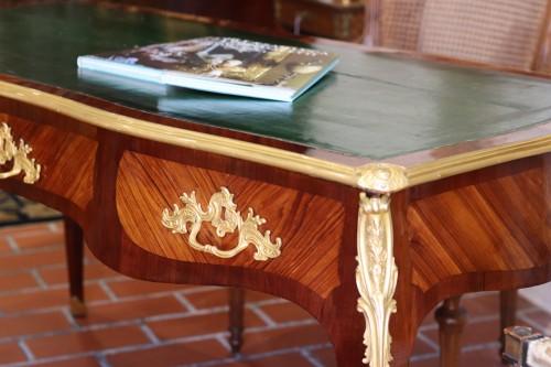 French Louis XV Bureau Plat - Furniture Style Louis XV