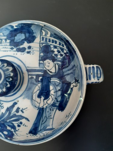 Porcelain & Faience  - Spiced wine bowl, Delft, circa 1700