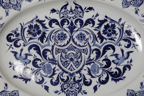 Lille, 18th century - Porcelain & Faience Style French Regence