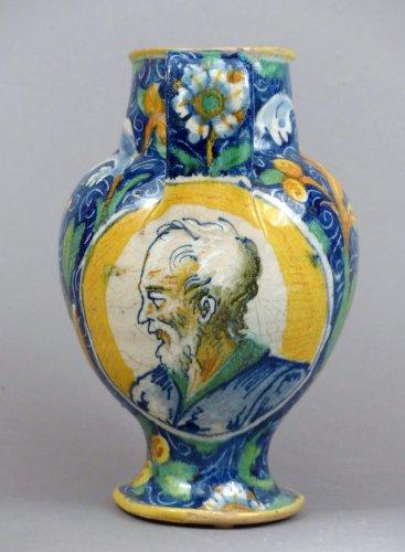 16th century majolica chevrette - Porcelain & Faience Style Renaissance