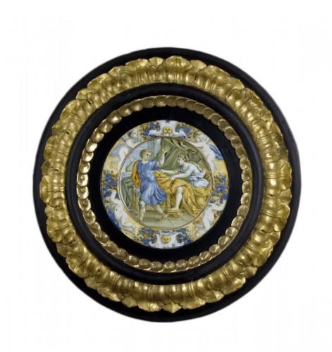17th century Taglieré Castelli plate