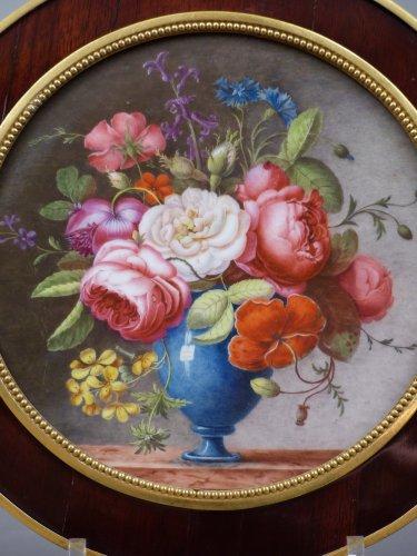 18th century Sèvres plaque - Porcelain & Faience Style Directoire