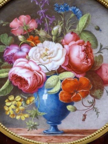 Porcelain & Faience  - 18th century Sèvres plaque