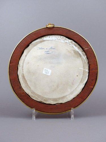 18th century Sèvres plaque -