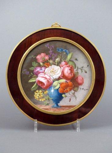 18th century Sèvres plaque - Directoire