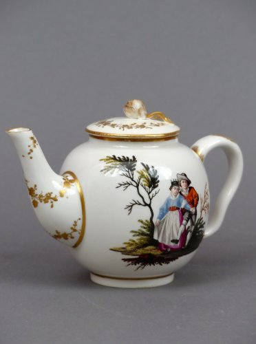 18th century Ansback teapot
