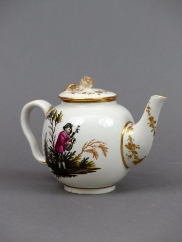 18th century Ansback teapot -