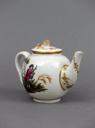 18th century - 18th century Ansback teapot