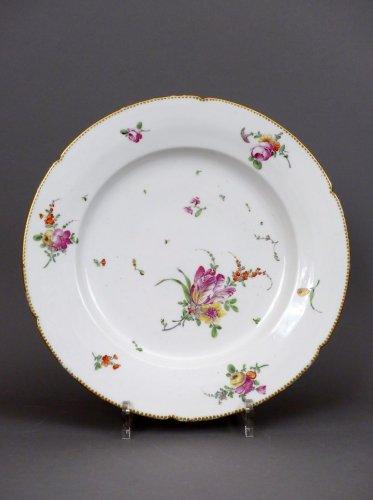A louis XVI porcelain of Boissette platter