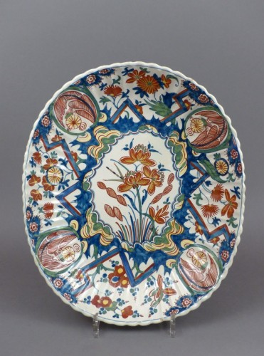 18th century Delft platter -