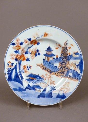 Japan 18th century - Imari style Porcelain plate