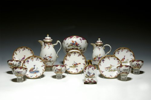 Fürstenberg porcelain set , circa 1753