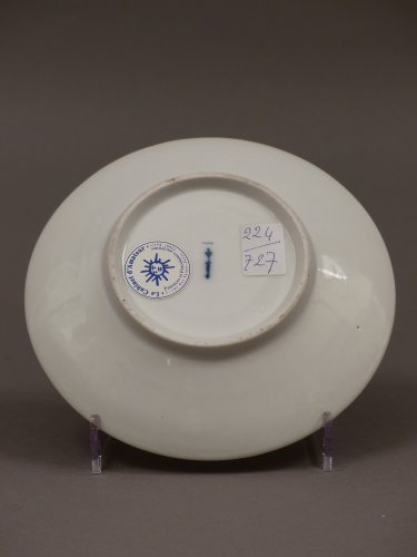 18th century - Berlin porcelain cup and saucer, late 18th century