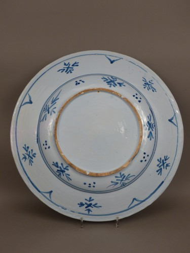 "Louis XIV - Large dish of Nevers ""istoriati"" mid-17th century"