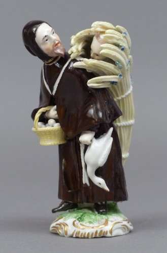 18th Century Frankenthal Porcelain Monk figure -