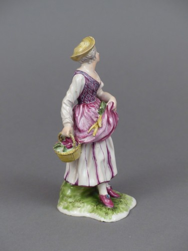 Figure of a young peasant girl, Niderviller 18th century  -