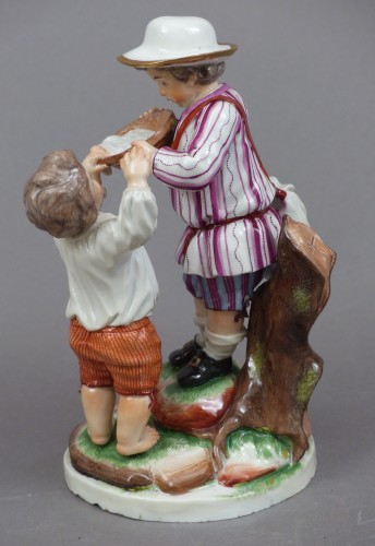 18th century Niderviller's porcelain group -
