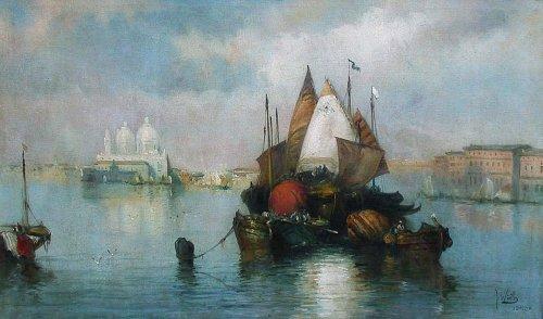 Venise - Eliseo Meifren y Roig (1857-1940)