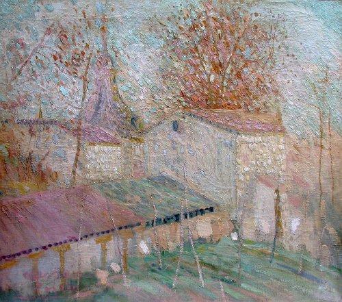Landscape of Spain - Gregorio Prieto Munoz (1897-1992)