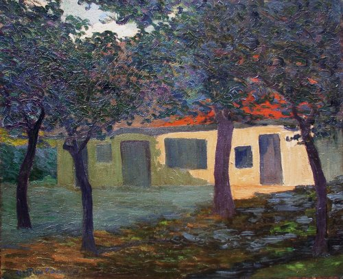 Ferme normande - Gaston Gosselin (1882-1913)