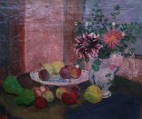 still life by François Gall (1912-1987)