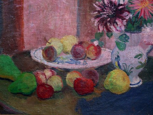still life by François Gall (1912-1987) - Paintings & Drawings Style