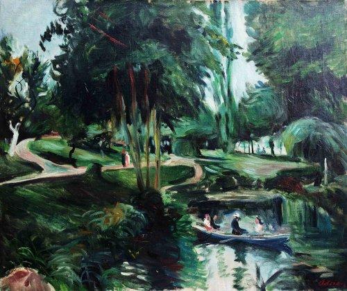 Buttes Chaumont park -  Lucien Adrion (1889-1953)