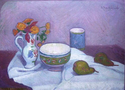 Nature morte - Manuel Ortiz de Zarate (1887-1946)