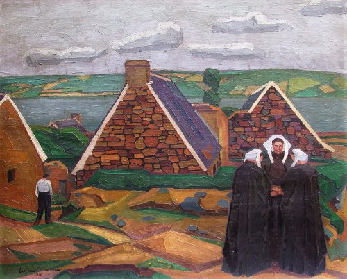 The fates - Eugène Corneau (1894-1976)
