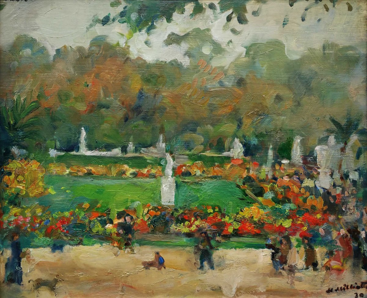 Le jardin du luxembourg nicolas milioti 1874 1962 for Le jardin d agathe 19