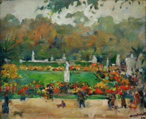 Garden of Luxembourg - Nikolaj Milioti (1872-1962)