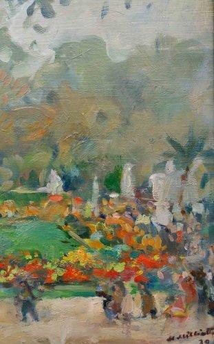 20th century - Garden of Luxembourg - Nikolaj Milioti (1872-1962)