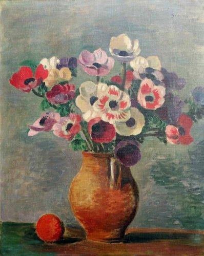 Flowers - Wilhelm GIMMI (1886-1965)