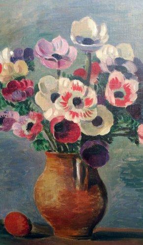 Flowers - Wilhelm GIMMI (1886-1965) - Paintings & Drawings Style
