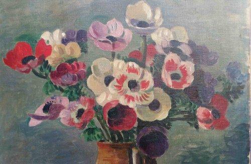 Paintings & Drawings  - Flowers - Wilhelm GIMMI (1886-1965)