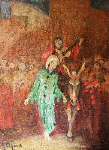 Carnival - Fausto AGNELLI (1879-1944)