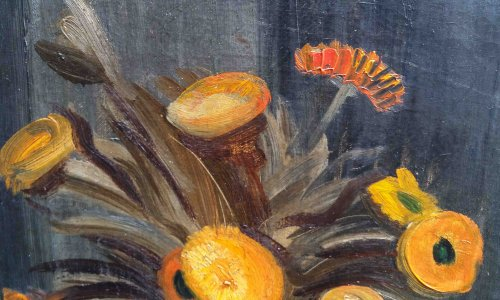 Paintings & Drawings  - Marigolds  - Léopold Levy (1882-1966)