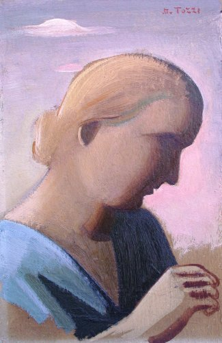 the artist's wife by Mario TOZZI (1895-1979)