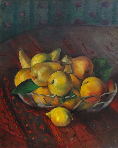 Coupe de fruits - Maurice BRIANCHON (1899-1979)
