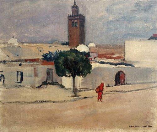 Tunis par L.Mainssieux (1885-1958)