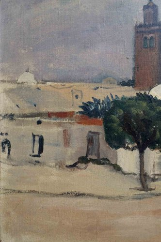Paintings & Drawings  - Tunis par L.Mainssieux (1885-1958)