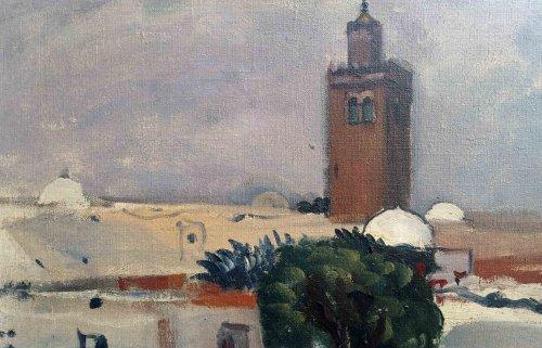 Tunis par L.Mainssieux (1885-1958) -