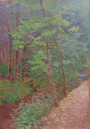 Undergrowth on Mantes - Louis HAYET (1864-1940)