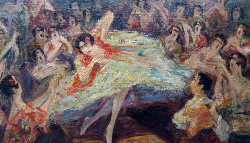 Bailar flamenco - Pere YSERN Y ALIÉ (1875-1946) - Paintings & Drawings Style Art nouveau