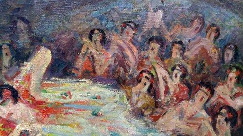 Bailar flamenco - Pere YSERN Y ALIÉ (1875-1946) -