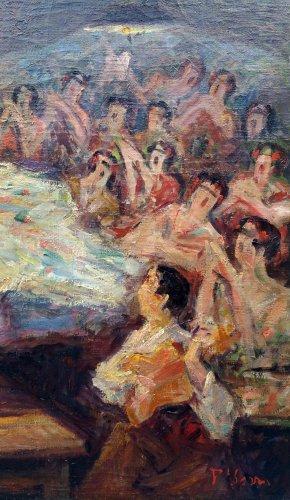 Bailar flamenco - Pere YSERN Y ALIÉ (1875-1946) - Art nouveau