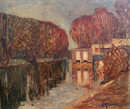 Washing  Boat - Alexander Altmann (1885-1934)