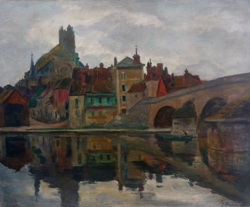 Saint Nicolas bridge -  Ossip Braz (1873-1936)