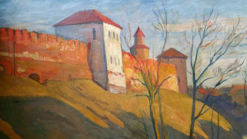 Novgorod  - Ossip Braz (1873-1936) - Paintings & Drawings Style