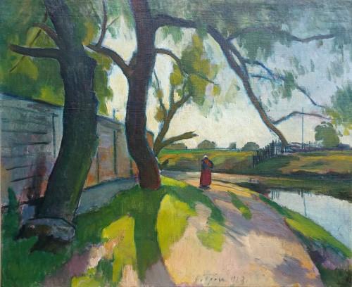 Landscape by Ossip Braz (1873-1936)